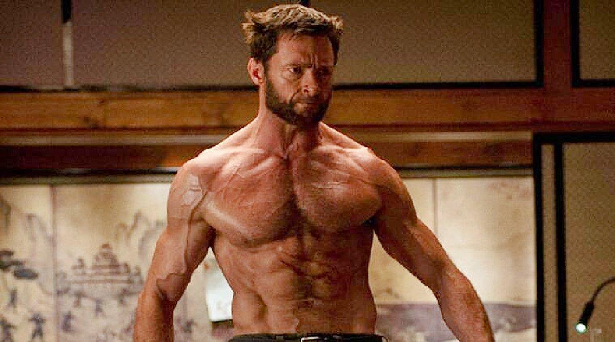 Hugh Jackman in X-Men.