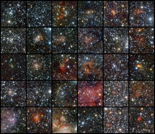 Star Clusters Discovered by ESO's VISTA Telescope