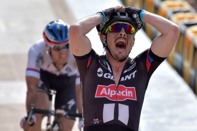 John Degenkolb wins Paris-Roubaix