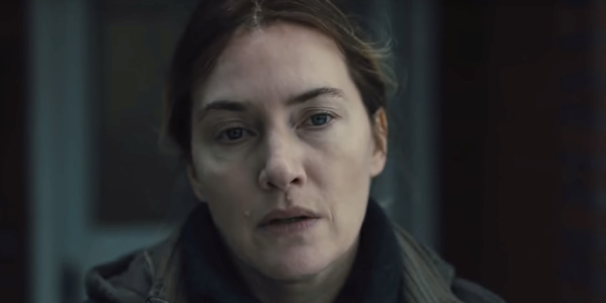 Kate Winslet in The Mare of Easttown.