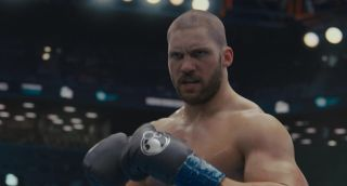 Florian Munteanu as boxer Viktor Drago in Creed 2