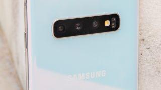 The Samsung Galaxy S10 Plus. Image credit: TechRadar