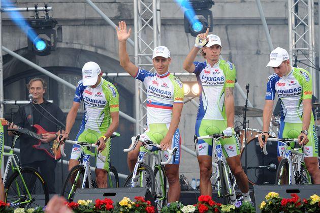 Peter Sagan, Tour de France 2012 presentation