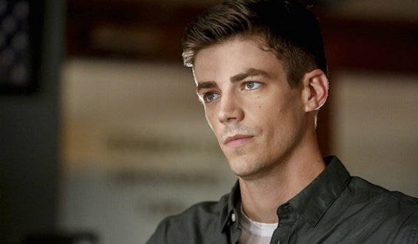barry allen looking serious the flash