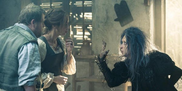 The Witch tells the Baker's Wife the quest in Into The Woods