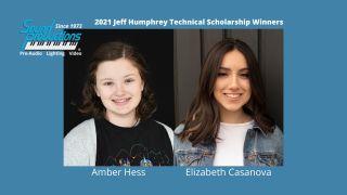 Sound Productions awards 2021 scholarship