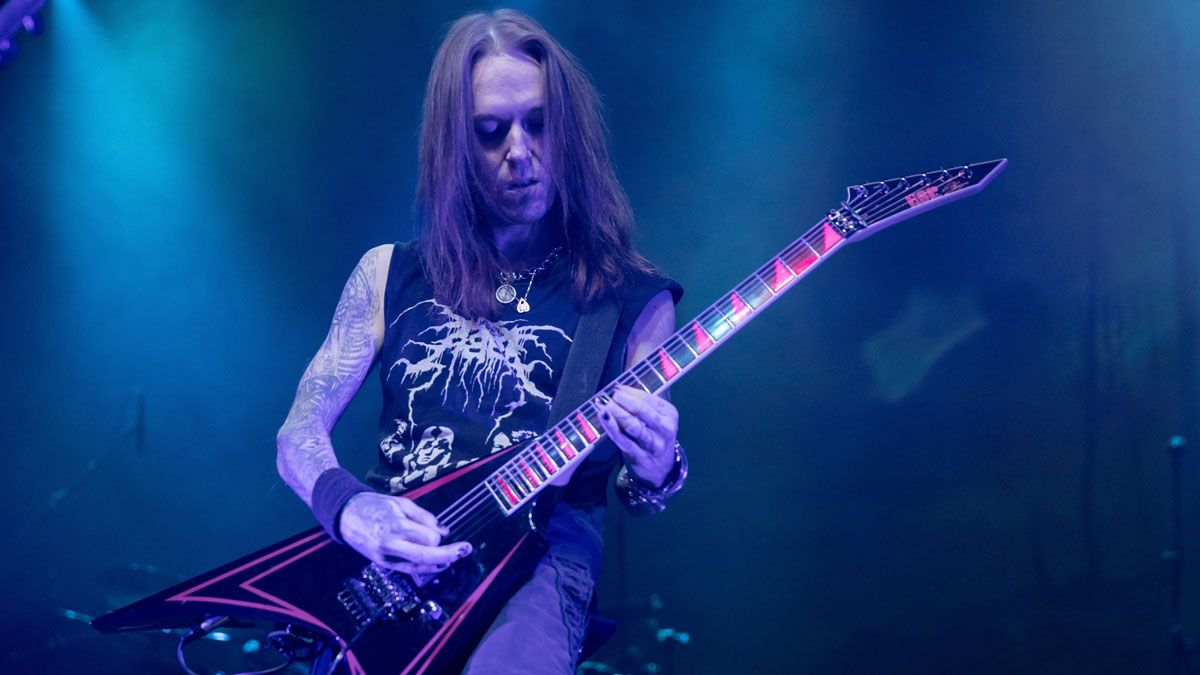 """Alexi Laiho's top 5 tips for guitarists: """"The metronome is a relentless tool. It won't give you a break if your fingers start to hurt"""""""