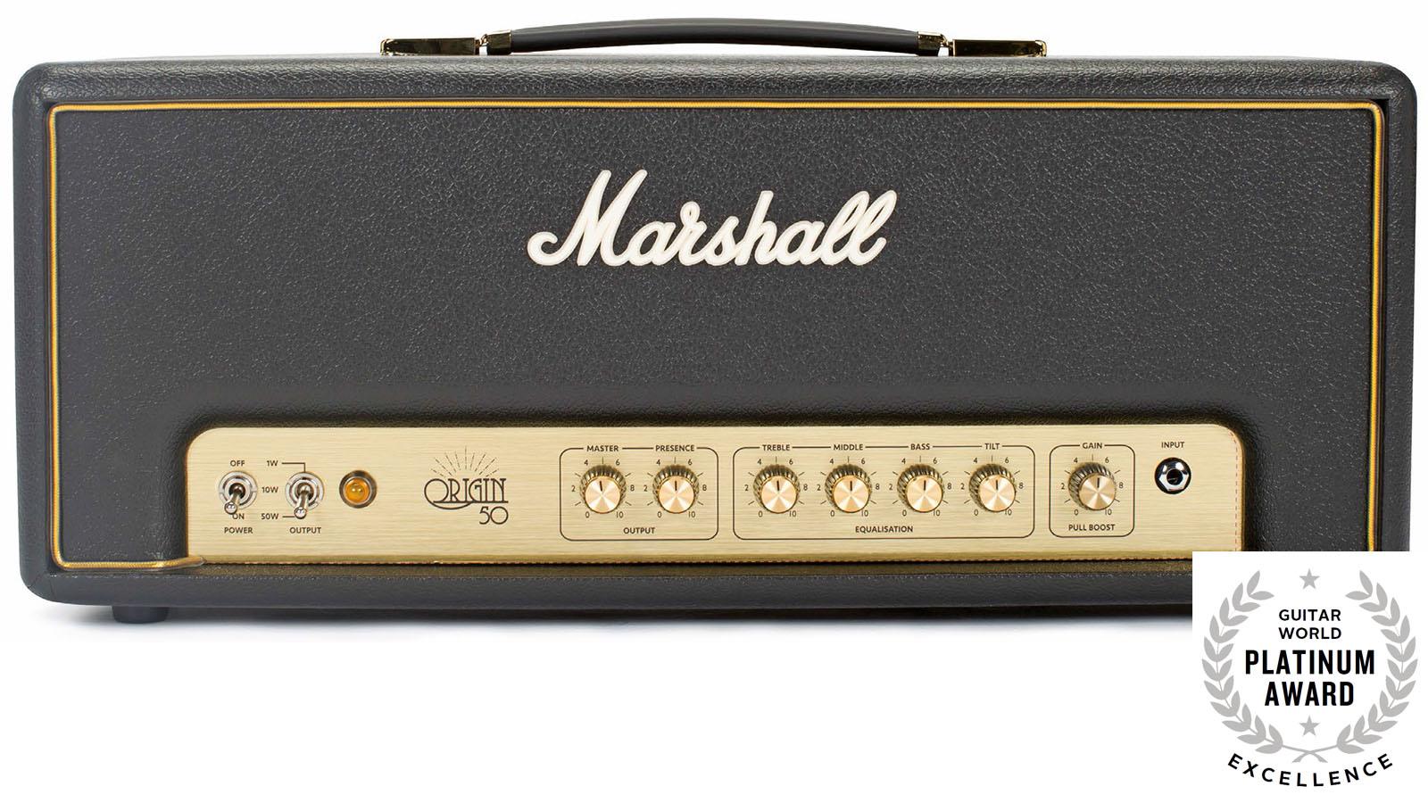 Review Marshall Origin50h Amp Head Guitar World