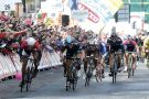 Marcel Kittel beats Ben Swift to win stage three of the 2014 Giro d'Italia