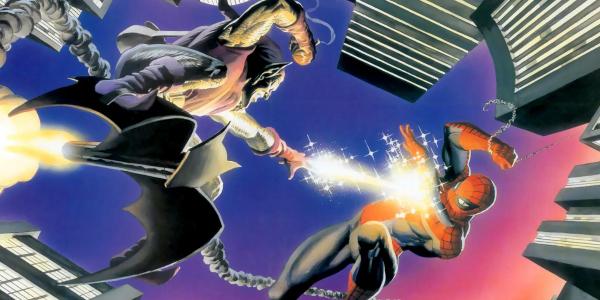 Spider-Man versus the Green Goblin