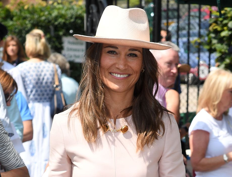 Pippa Middleton brought along an affordable summer clutch with her to Wimbledon this week