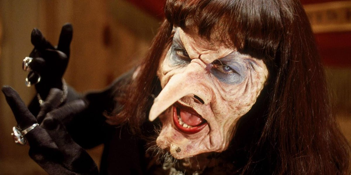 Anjelica Huston in The Witches