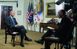 Two days after Donald Trump's inauguration comes this in-depth special on his predecessor, in interviews filmed either side of the 2016 presidential election.