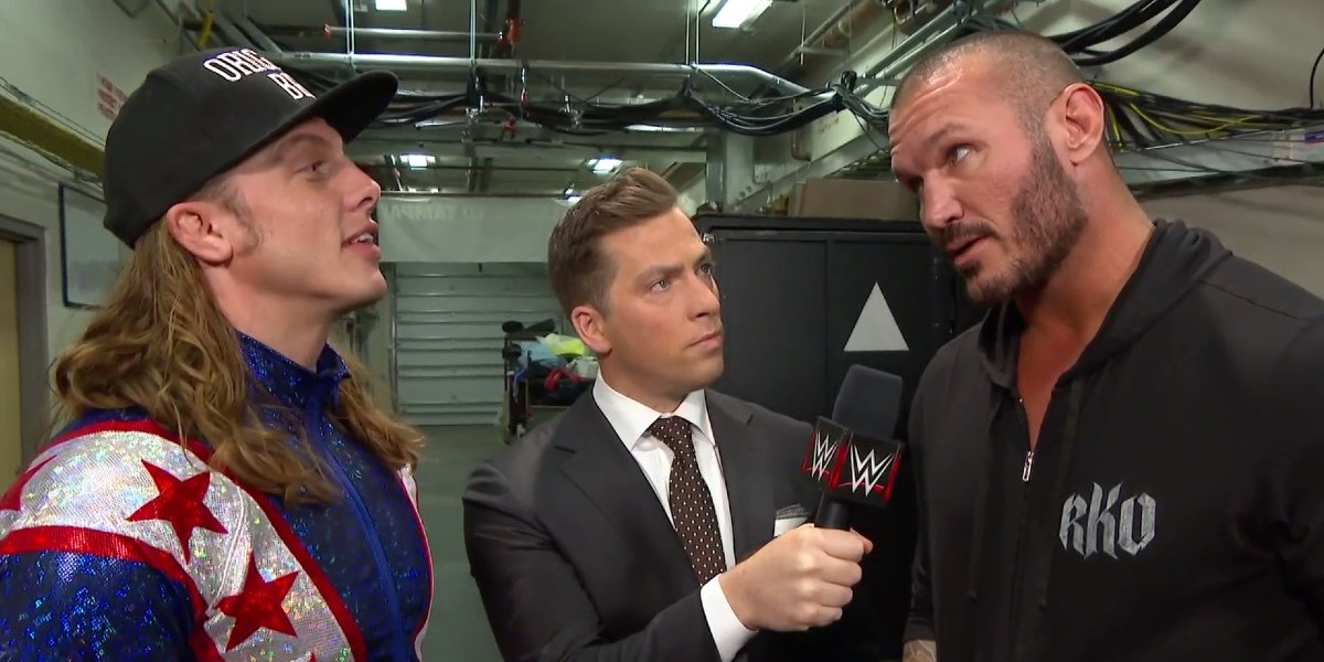 Riddle and Randy Orton on Raw