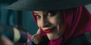 Harley Quinn taking aim in Birds of Prey