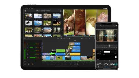 best video editing apps: LumaFusion