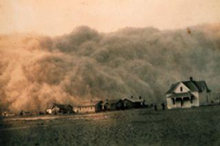 1930s dustbowl, drought