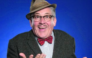 Count Arthur Strong's back – and he's been at the crème de menthe… Steve Delaney's wonderful comic creation