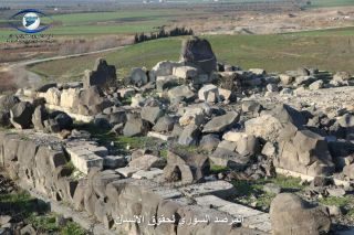 syrian temple at ain dara destruction