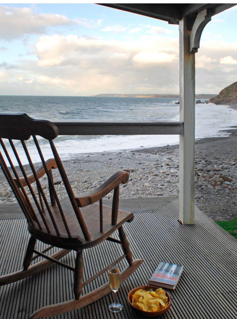 the beach hut photo