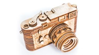 At last, you can own a Leica! This M3 is just $89 (but it's made of wood)
