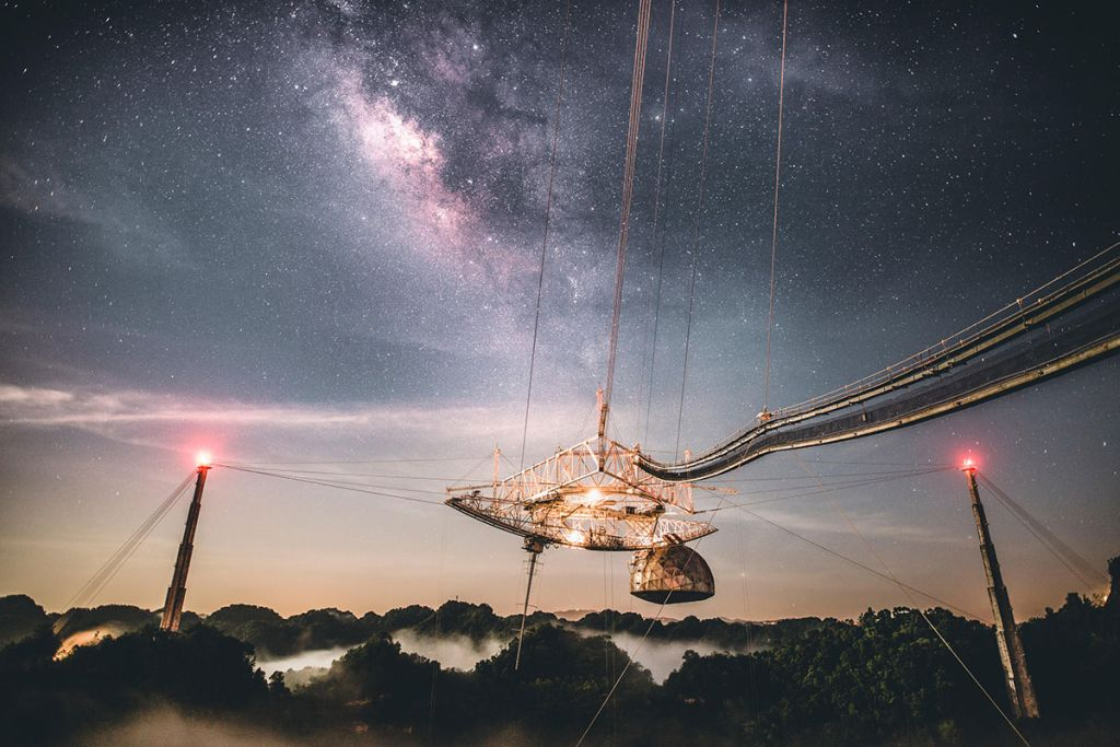 Legacy of shattered alien-seeking Arecibo telescope will live on for millions of years