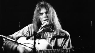Neil Young live in 1970