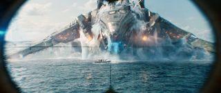 "Alien Invader in ""Battleship"""