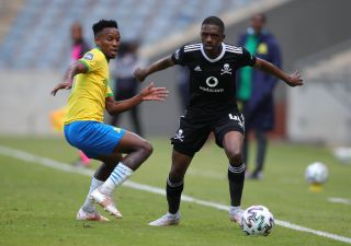 Abel Mabaso challenged by Themba Zwane