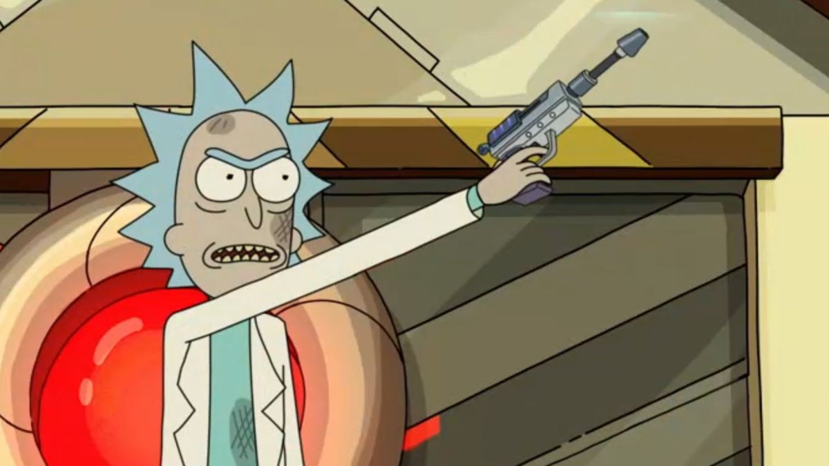 Rick and Morty Fortnite crossover: Epic teases a Rick and Morty character for season 7