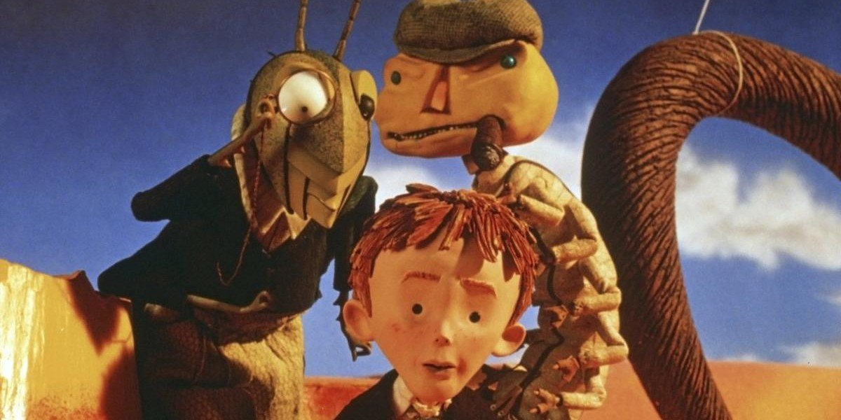 Screenshot from James and the Giant Peach