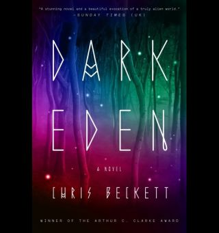 """Dark Eden,"" by Chris Beckett Book Cover"