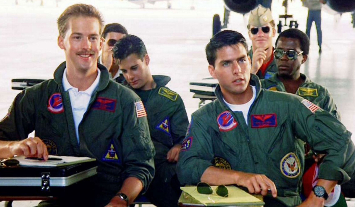 Top Gun Goose and Maverick