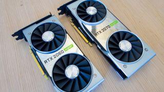 Nvidia GeForce RTX 2060 Super and RTX 2070 Super