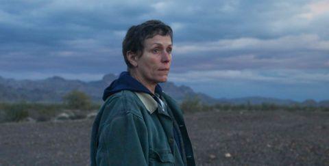Frances McDormand in 'Nomadland'.