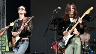 (L-R) Michael and Brian D'Addario of The Lemon Twigs
