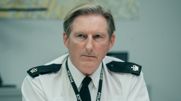 Adrian Dunar as Ted Hughes in BBC's Line of Duty