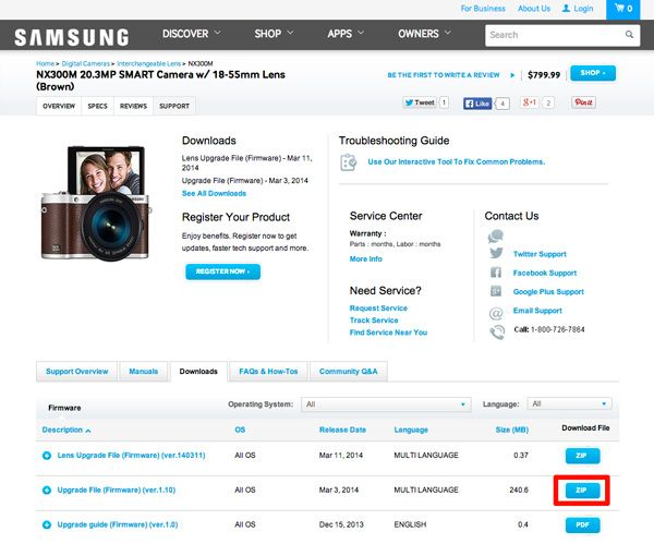 How To Update the Samsung NX300 Camera's Firmware | Tom's Guide
