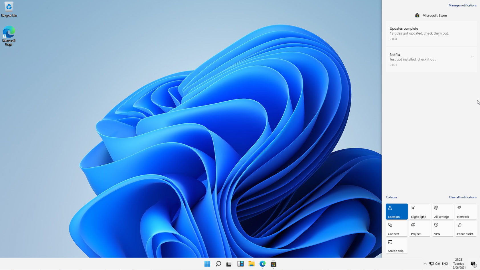 Screenshot Of The Leaked Windows 11 Operating System