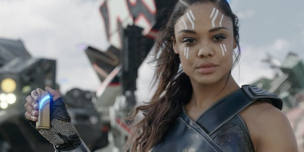 Tessa Thompson as Valkyrie in Thor: Ragnarok