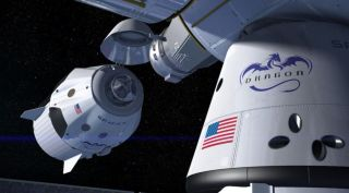 SpaceX Crew Dragon spacecraft