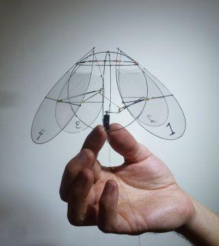 Jellyfish robot flier