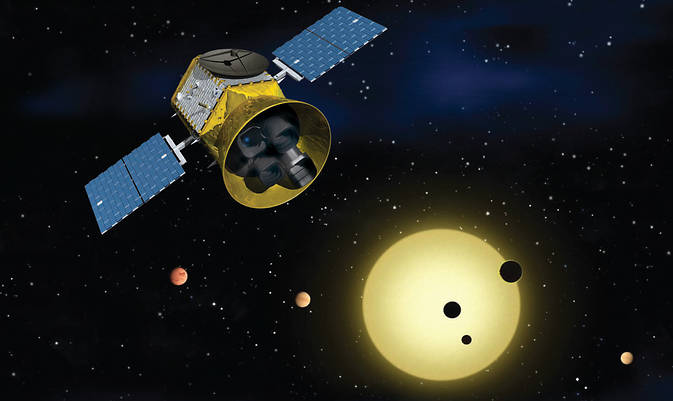 NASA's alien planet telescope moonlights in studying stars