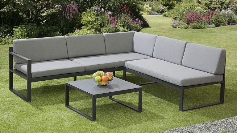 Garden Store Direct Sydney Aluminium Large Corner Lounge Set