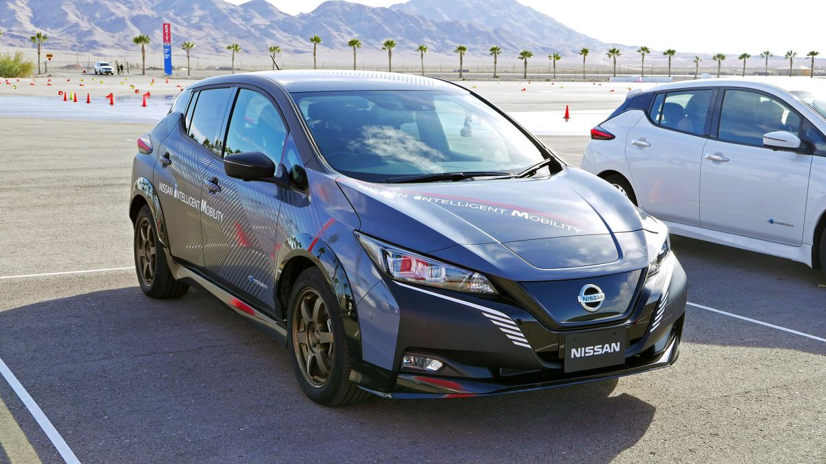 I drove Nissan's e-4ORCE electric car prototype and it was a blast - Tom's Guide