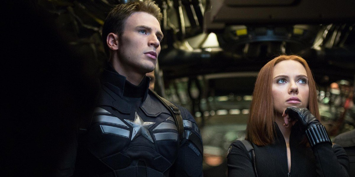 Chris Evans, Scarlett Johansson - Captain America: The Winter Solider