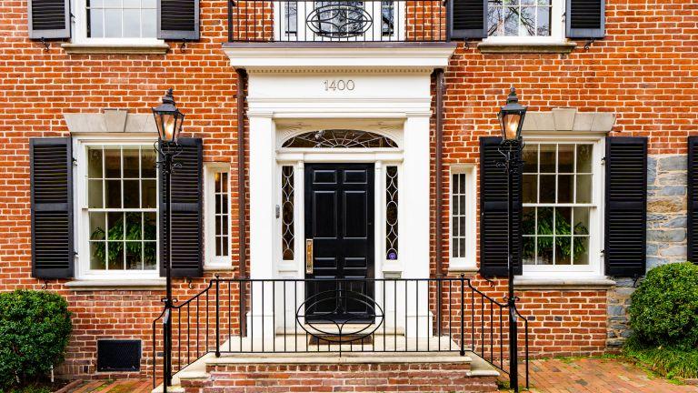 JFK's home, Washington DC, Georgetown, President, USA property, John F Kennedy, Jackie Kennedy