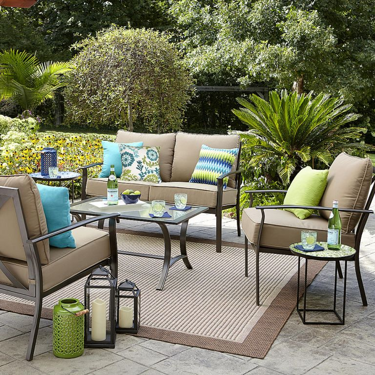 Sears patio furniture sale Garden Oasis chat set