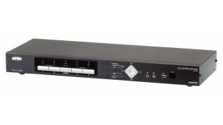 ATEN Technology has added the 4-Port USB 4K HDMI Multi-View KVMP Switch to its Multi-View KVM product series.