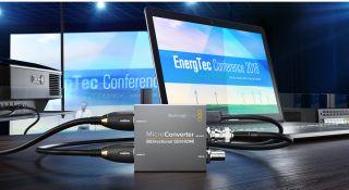 Blackmagic Design Introduces Newblackmagic Micro Converter Bidirectional Sdi Hdmi Broadcasting Cable